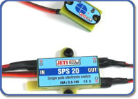Jeti Electronic Switch with Magnetic Key SPS 20