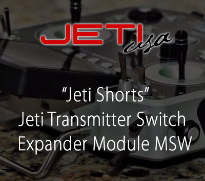 Jeti Transmitter Switch Expander Module MSW