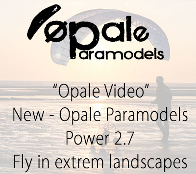 New - Opale Paramodels - Power 2.7 -Fly in extrem landscapes