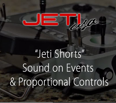 Sound on Events & Proportional Controls