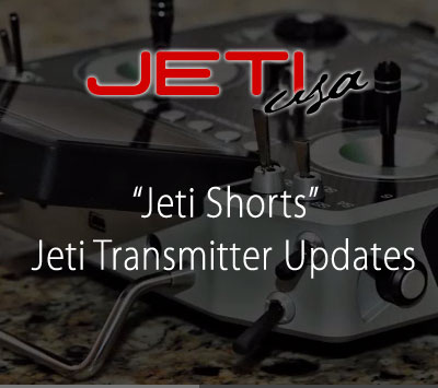 Jeti Transmitter Updates